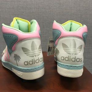 New Adidas Jeremy Scott Miami License Plate 11 NWT